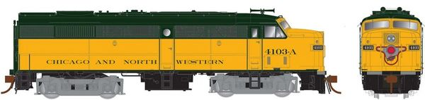 Rapido Ho Scale FA-2 Chicago and North Western DCC & Sound *Pre-order*