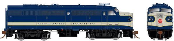 Rapido Ho Scale FA-2 Missouri Pacific (Delivery) DCC & Sound *Pre-order*