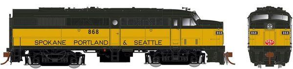 Rapido Ho Scale FA-2 Spokane Portland & Seattle DCC & Sound *Pre-order*