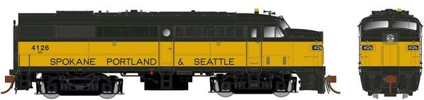 Rapido Ho Scale FA-2 Burlington Northern (ex-SPS broadband) DCC & Sound *Pre-order*