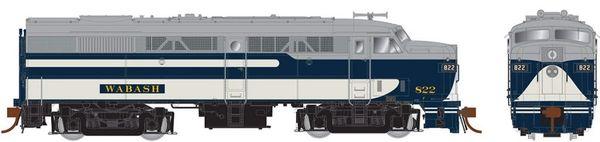 Rapido Ho Scale FA-2 Wabash (ex-Ann Arbor) DCC & Sound *Pre-order*