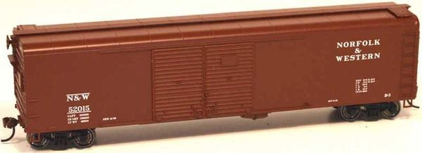 Bowser Ho Scale Norfolk & Western X32 50ft Boxcar