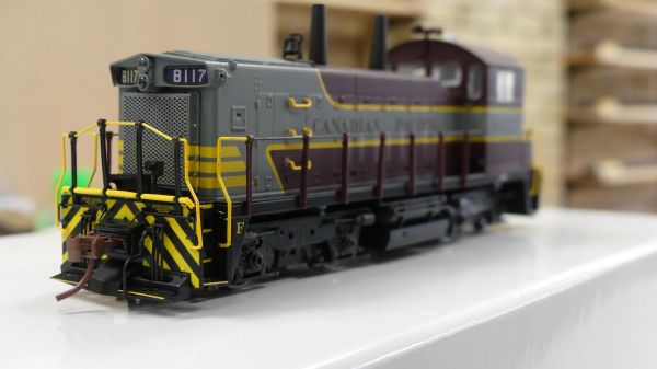 Rapido Ho Scale Canadian Pacific SW1200RS Block Lettering DCC Ready