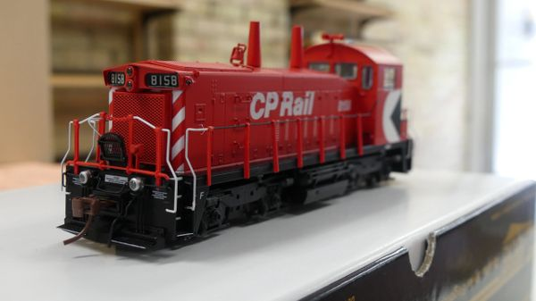 "Rapido Ho Scale Canadian Pacific SW1200RS 8"" Stripe, Cab Multi-mark W/ Ditchlights DCC Ready"