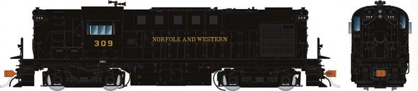 Rapido Ho Scale RS11 Norfolk & Western (as delivered) DCC Ready *Pre-order*