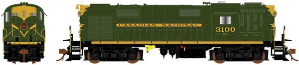 Rapido Ho Scale RS18 Canadian National (Green) DCC & Sound *Pre-order*