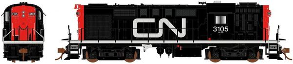 Rapido Ho Scale RS18 Canadian National (Noodle) DCC & Sound *Pre-order*