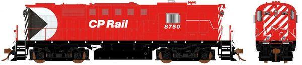 Rapido Ho Scale RS18 CP Rail (8″ Stripes) W/ Ditch Lights DCC & Sound *Pre-order*