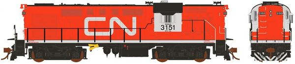 Rapido Ho Scale RS18 Canadian National Tempo W/O HEP DCC Ready *Pre-order*