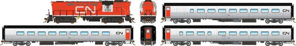 Rapido Ho Scale Canadian National Tempo – Complete Sets DCC & Sound *Pre-order*