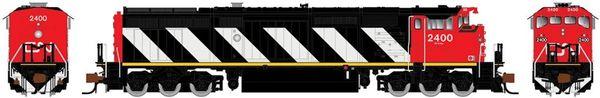 Rapido N Scale Dash 8-40CM CN Stripes DCC & Sound W/Ditchlights *Pre-order*