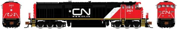 Rapido N Scale Dash 8-40CM Canadian National (Website) DCC & Sound W/Ditchlights *Pre-order*