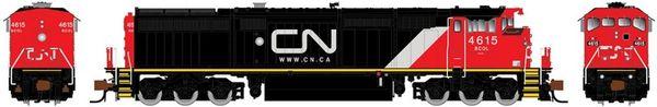 Rapido N Scale Dash 8-40CM British Columbia Railway (CN Website) DCC Ready W/Ditchlights *Pre-order*