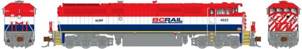 Rapido N Scale Dash 8-40CM British Columbia Railway (Post 2010) DCC Ready W/Ditchlights *Pre-order*