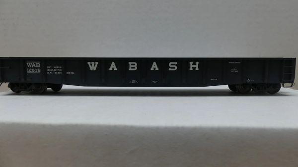 Tangent 70 Ton Gondola Wabash#12638 Weathered