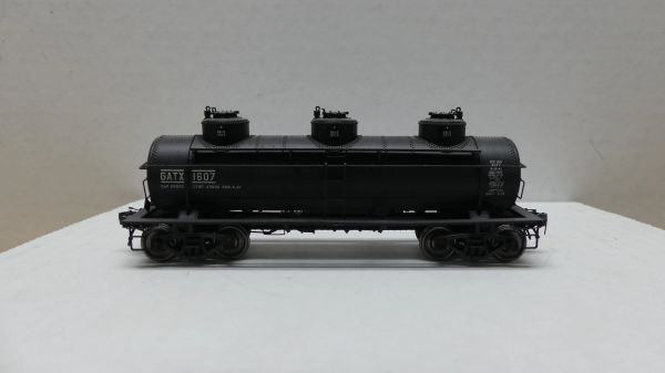 Tangent General American 6000 Gal 3-C GATX #1607 Weathered