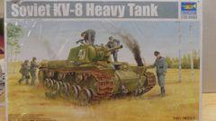 Trumpeter Soviet KV-8 Heavy Tank 1/35