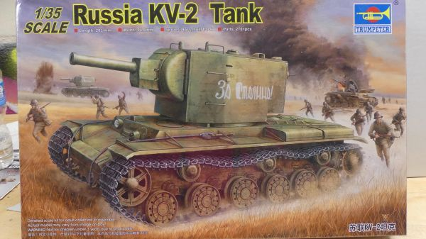 Trumpeter Russia KV-2 1/35