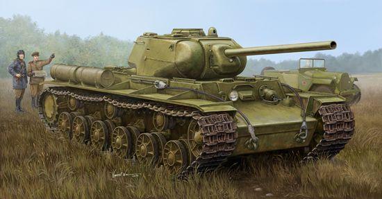 Trumpeter Soviet KV-1S/85 Heavy Tank 1/35