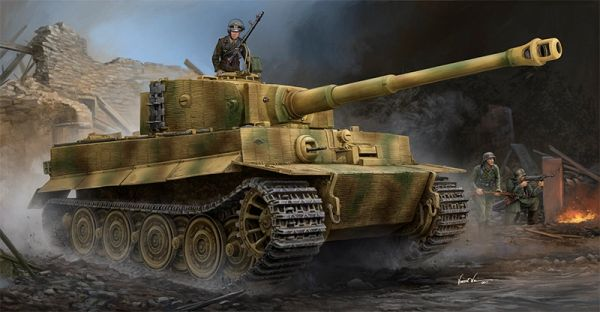 Trumpeter Pz.Kpfw.VI Ausf.E Sd.Kfz.181 Tiger I (Late Production) w/Zimmerit 1/35