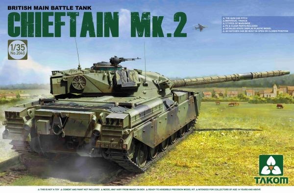 Takom British Main Battle Tank Chieftain Mk.2 1/35