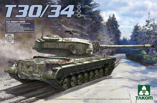 Takom US Heavy Tank T30/34 1/35