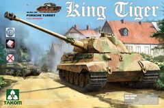 Takom Sd.Kfz 182 King Tiger Porsche (Full interior)