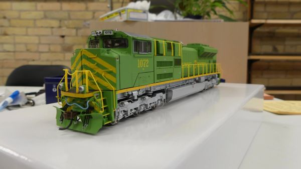 Athearn Genesis Ho Scale SD70ACe Illinois Terminal #1072 DCC Ready