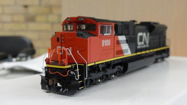 Athearn Genesis Ho Scale SD70ACe CN (Repaints) DCC & Sound