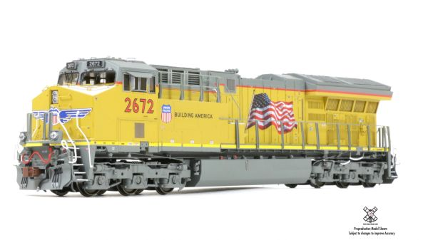 Scaletrains Rivet Counter Ho Scale C45AH Tier 4 GEVO Union Pacific DCC & Sound