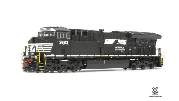 Scaletrains Rivet Counter Ho Scale ET44AC Tier 4 GEVO Norfolk Southern (3rd Release) DCC & Sound *Pre-order*