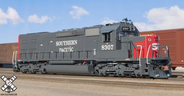 """Scaletrains Rivet Counter Ho Scale Southern Pacific SD40T-2 """"Tunnel Motor"""" DCC & Sound"""