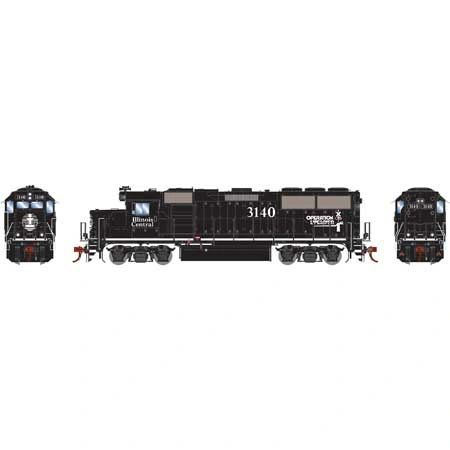 Athearn Genesis Ho Scale Illinois Central GP50 DCC & Sound *Pre-order*
