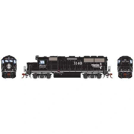 Athearn Genesis Ho Scale Illinois Central GP50 DCC & Sound *Pre-order*