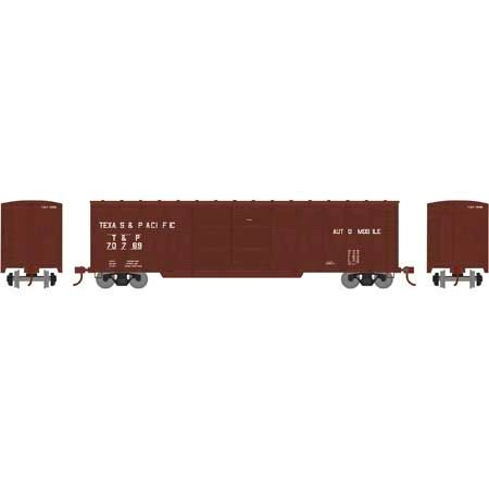 Athearn Ready To Run Ho Scale Single Sheathed Texas & Pacific Boxcar *Pre-order*
