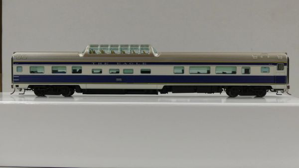 Rapido Ho Scale Budd Mid Train Dome Cars Missouri Pacific (Colorado Eagle)