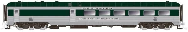 Rapido Ho Scale New Haven – Delivery Scheme with skirts Stainless Steel Dining Car