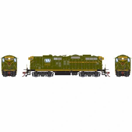 Athearn Genesis Ho Scale Canadian National (CNR) GP9 DCC & Sound