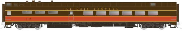 Rapido Ho Scale Pullman Standard Illinois Central Dining Car *Pre-order*