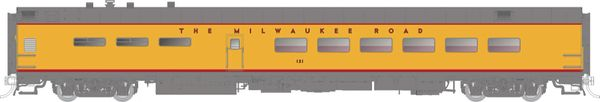 Rapido Ho Scale Pullman Standard Milwaukee Road (UP Yellow) Dining Car *Pre-order*