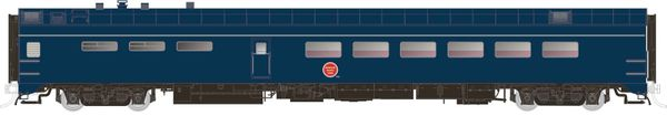 Rapido Ho Scale Pullman Standard Missouri Pacific (Jenks Blue) Dining Car *Pre-order*