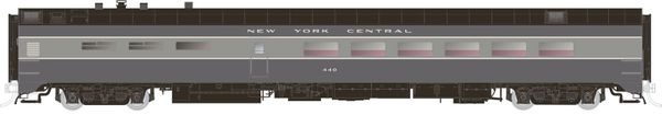 Rapido Ho Scale Pullman Standard New York Central (Two Tone Gray) Dining Car *Pre-order*