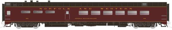 Rapido Ho Scale Pullman Standard Norfolk & Western Dining Car *Pre-order*