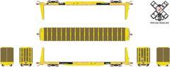 Scaletrains.com Ho Scale BSC F68AH Bulkhead Flatcar, TTPX/Speed Logo