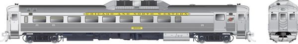Rapido Ho Scale RDC-2 Phase 1B Chicago & North Western DCC W/Sound