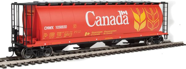 Walthers Mainline 59' Cylindrical Hopper Canada CNWX