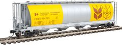 Walthers Mainline 59' Cylindrical Hopper Canadian Wheat Board CNWX