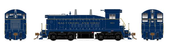 Rapido Ho Scale SW1200 Baltimore & Ohio DCC & Sound *Pre-order*