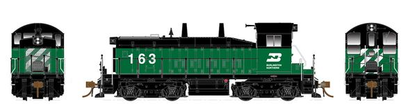 Rapido Ho Scale SW1200 Burlington Northern DCC & Sound *Pre-order*