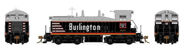 Rapido Ho Scale SW1200 Chicago Burlington & Quincey DCC Ready *Pre-order*
